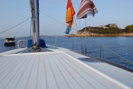La crociera in barca a vela