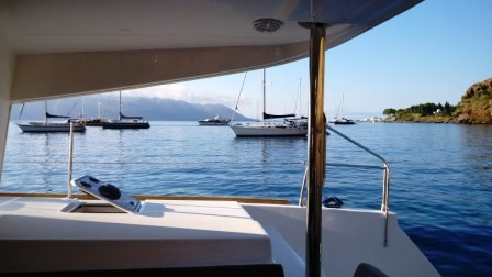 Eolie in flottiglia 2017